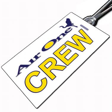 AIR ONE Crew Tag